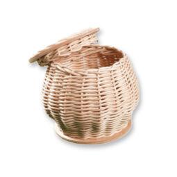 Kosárfonó kézműves csomag - fedeles doboz