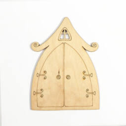 Fafigura - Tündér ajtó