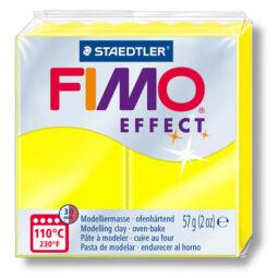 FIMO Neon Effect süthető gyurma, 57 g - neon sárga (8010-101)