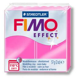 FIMO Neon Effect süthető gyurma, 57 g - neon pink (8010-201)