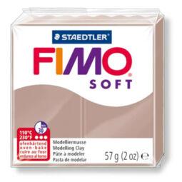 FIMO Soft süthető gyurma, 57 g - barnás szürke (8020-87) 2018
