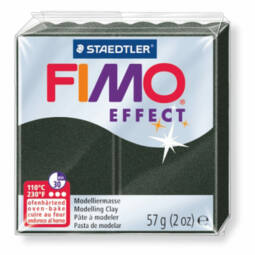 FIMO Effect süthető gyurma, 57 g - gyöngyház fekete (8020-907)