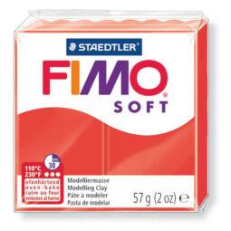 FIMO Soft süthető gyurma, 57 g - indiánpiros (8020-24)