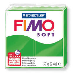 FIMO Soft süthető gyurma, 57 g - trópusizöld (8020-53)