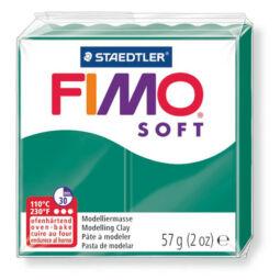 FIMO Soft süthető gyurma, 57 g - smaragd (8020-56)