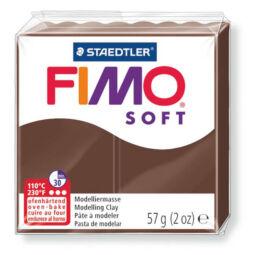 FIMO Soft süthető gyurma, 57 g - csokoládé (8020-75)