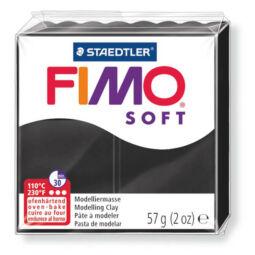 FIMO Soft süthető gyurma, 57 g - fekete (8020-9)