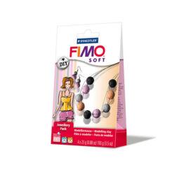 FIMO Soft süthető gyurma készlet, Jewellery Pack, 4x25 g - coral pearls