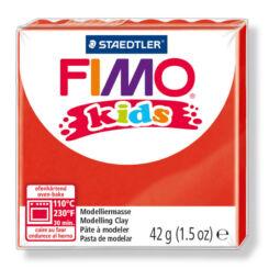 FIMO Kids süthető gyurma, 42 g - piros (8030-2)