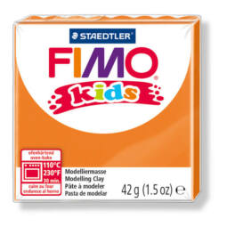 FIMO Kids süthető gyurma, 42 g - narancs (8030-4)