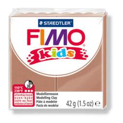FIMO Kids süthető gyurma, 42 g - világos barna (8030-71)