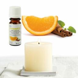 Illóolaj gyertyához, 10 ml - 11 fahéjas narancs