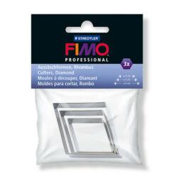 FIMO formaszaggató, mini kiszúró készlet - Diamond