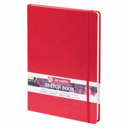Talens Art Creation Sketch Book rajz- és vázlatfüzet, A4, 80 lap, piros