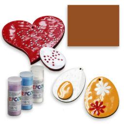 Efcolor hobbyzománc por, 10 ml - konyak