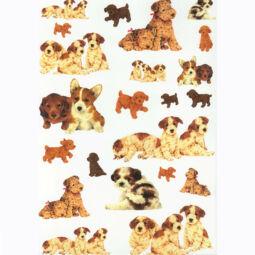 Rizspapír - kutyák