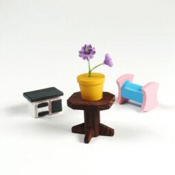 Mini fadísz csomagban - bútorok
