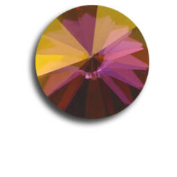 1122 Swarovski Rivoli SS39 (8 mm) - Crystal Lilac Shadow