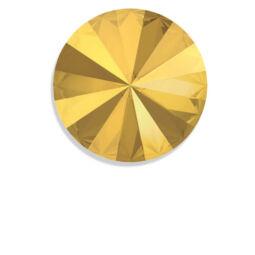1122 Swarovski Rivoli SS39 (8 mm) - Crystal Metallic Sunshine
