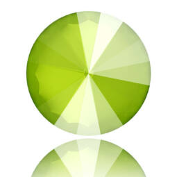 1122 Swarovski Rivoli SS60 (14 mm) - Crystal Lime