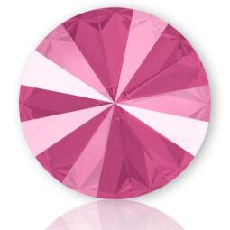1122 Swarovski Rivoli SS50 (12 mm) - Crystal Peony Pink