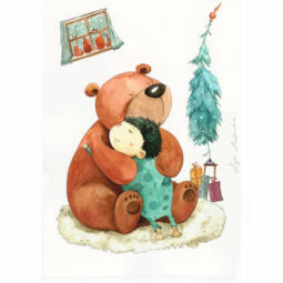 Egri Mónika kifestő, Karácsonyi - A legjobb barátok