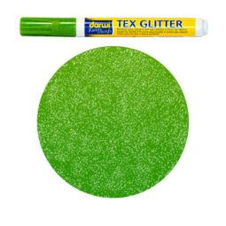Textilfilc, Tex Glitter - sötét anyagra, világoszöld