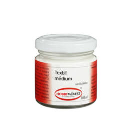 Hobbyművész textilmédium - 100 ml