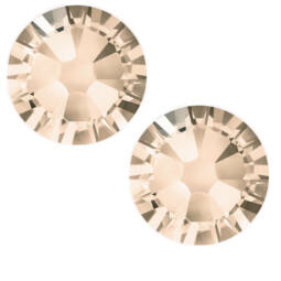 2038 Swarovski Xilion Rose Hotfix vasalható kristály, SS10 (2,8 mm) - Light Peach