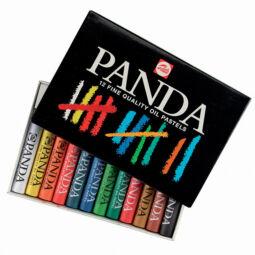 Talens Panda olajpasztell (zsírkréta) készlet - 12 db