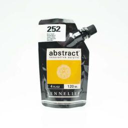 Sennelier Abstract akrilfesték, 120 ml - 252, yellow ochre