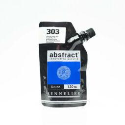 Sennelier Abstract akrilfesték, 120 ml - 303, cobalt blue hue