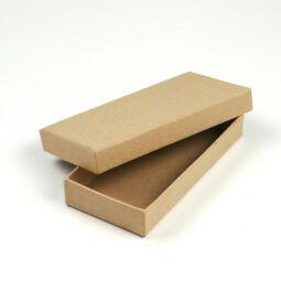 Papírmasé doboz, lapos - 12x6x2 cm