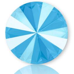 1122 Swarovski Rivoli SS50 (12 mm) - Crystal Summer Blue