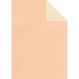 Tassotti decoupage papír - kétoldalas pöttyös, rózsaszín