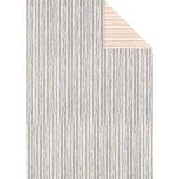 Tassotti decoupage papír - kétoldalas csíkos, lila-rózsaszín