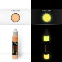 UnikromGlow világító kontúrfesték, 30 g - narancs