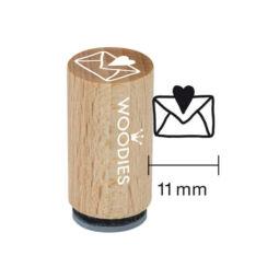 Pecsételő, Woodies, 1,3 cm - Boríték