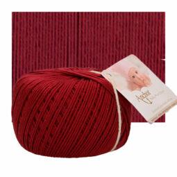 Horgolófonal, Baby Pure Cotton, 50 g, 00425 cseresznye