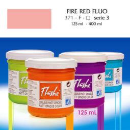 Flashe akrilfesték, 125 ml - 371, fluo fire red (fluoreszkáló)