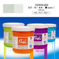 Flashe akrilfesték, 125 ml - 547, verdigris