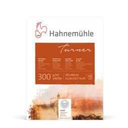 Hahnemühle Turner akvarelltömb, 300 g, 10 lap, 30x40 cm