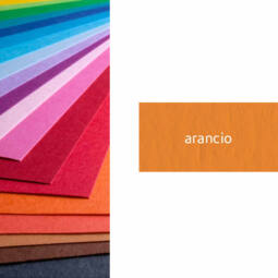 Fabriano Colore színes művészkarton, 200 g, 50x70 cm - 28 arancio