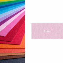 Fabriano Colore színes művészkarton, 200 g, 50x70 cm - 36 rosa