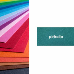 Fabriano Colore színes művészkarton, 200 g, 50x70 cm - 41 petrolio