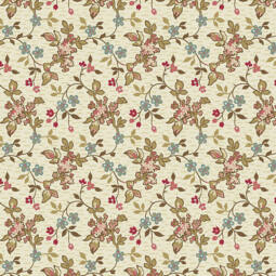 Patchwork anyag - Makower - Super Bloom 9448L Jasmine, Sand