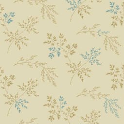 Patchwork anyag - Makower - Super Bloom 9454L Twigs, Light Khaki