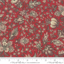 Patchwork anyag - Moda - Chafarcani by French General 13860-11 rouge