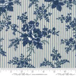 Patchwork anyag - Moda - Nortport Prints Minick and Simpson 14880-12 blue