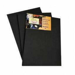 Rafaelo feszített festővászon, 2x3,3 cm, 20x20 cm, fekete